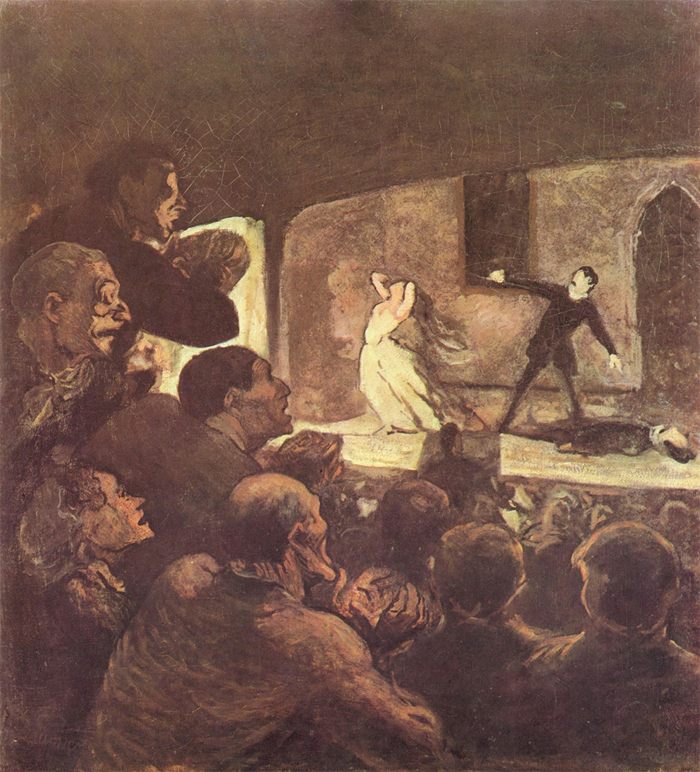 honore-daumier-melodrama
